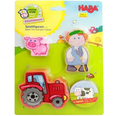 Stofftiere Kissen Bauernhof Fahrzeuge Traktor handmade DE zauberhaft und liebevoll