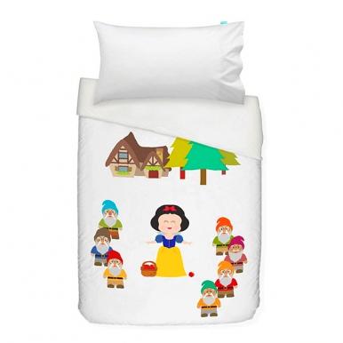 Mr Fox 2 Teiliges Kinder Bettwasche Set Schneewittchen Bettbezug