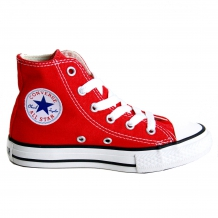 "CONVERSE ALL STAR Chuck Taylor Kinderschuhe ""Hi Youths Sneaker"" in Rot"