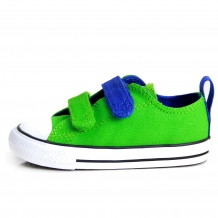 "CONVERSE ALL STAR ""CT V OX"" Kinder Canvas Sneaker in Jungle Green / Grün"