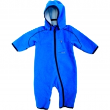"NAME IT Baby Softshelloverall ""Mambo NB Fleece Suit"" Unisex Fleece Overall 115 in Blau (Brilliant Blue)"