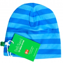 "FRED'S WORLD by GREEN COTTON Jungen Mütze ""Stripe Beanie"" in Blau / Türkis (Blue)"